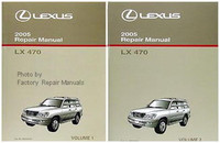 Lexus 2005 Repair Manual  LX 470