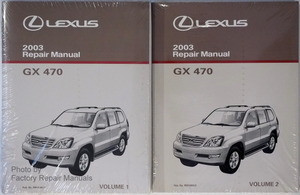 2003 lexus gx470 original factory shop service repair manual 2 rh factoryrepairmanuals com 2003 Lexus SUV 450 2003 Lexus SUV 450