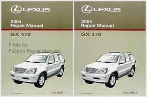 2004 lexus gx470 original factory shop service repair manual 2 rh factoryrepairmanuals com 2004 lexus gx470 repair manual pdf 2004 Lexus GX 470 Inside