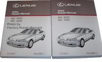 Lexus 1998 Repair Manual SC 400 SC 300