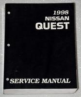 1998 NISSAN QUEST MINI-VAN GXE XE Factory Dealer Shop Service Repair Manual V40