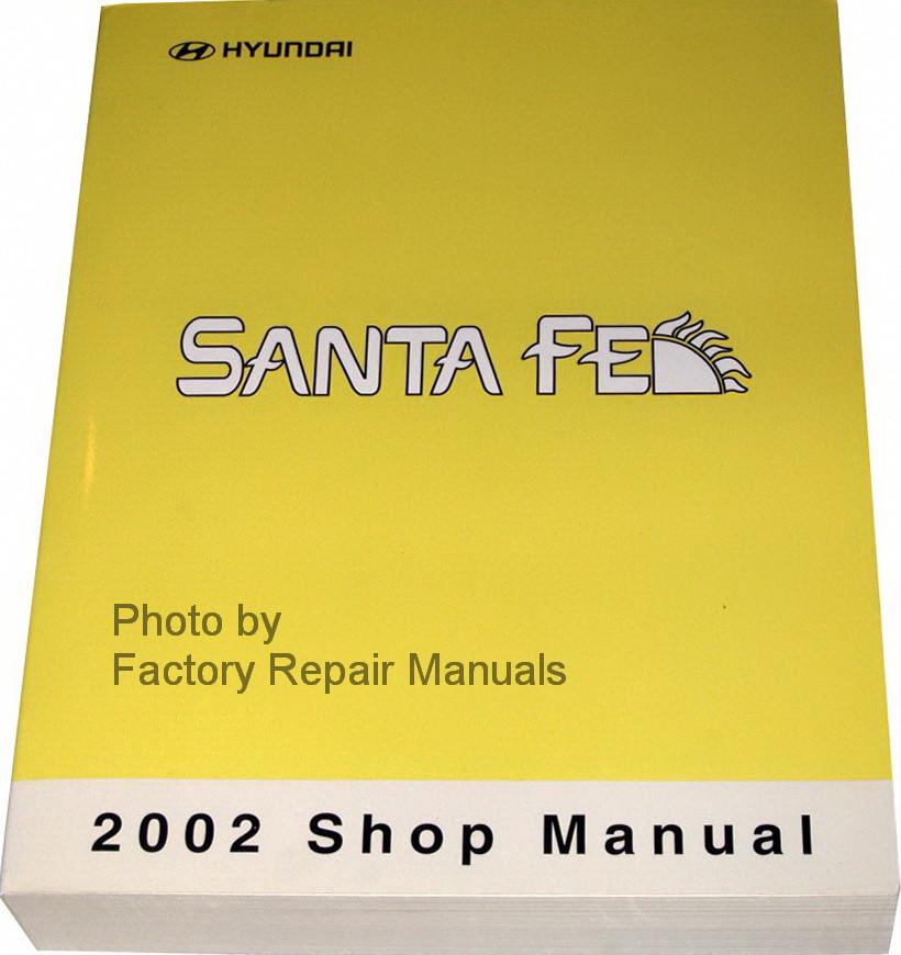 Repair manual hyundai santa fe 2008 check Engine Light reset