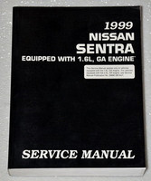 1995 NISSAN SENTRA, 200SX Factory Shop Service Repair Manual Set XE GXE GLE SE-R