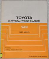 Toyota Electrical Wiring Diagram Van 1987 Model