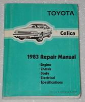Toyota Celica 1983 Repair Manual
