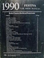 1990 Ford Festiva Shop Manual