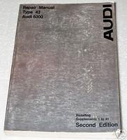 1978 1979 AUDI 5000 5000S Factory Dealer Shop Service Repair Manual 2nd Edition