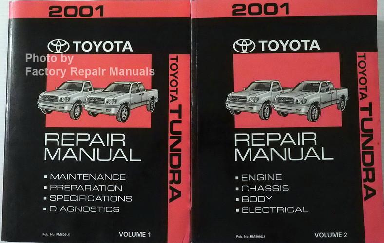 2001 toyota tundra factory shop service repair manual set new rh factoryrepairmanuals com toyota tundra service manual 2006 toyota tundra service manual