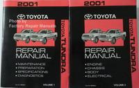 2001 Toyota Tundra Repair Manual Volume 1 and 2