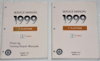 1999 Cadillac Catera Factory Service Manuals