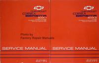Chevrolet Corsica, Beretta Service Manual 1993 Volume 1 and 2