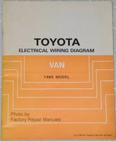 Toyota Electrical Wiring Diagrams Van 1985 Model