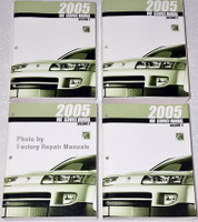 2005 Saturn View Factory Shop Service Manual Set