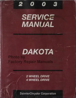 2003 Service Manual Dakota