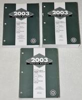 2003 GMC Envoy, Chevy Trailblazer & Oldsmobile Bravada Factory Service Manual Set
