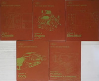 1974 Ford Car Shop Manual Volume 1, 2, 3, 4, 5