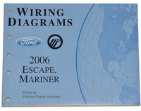 2006 Ford Escape, Mercury Mariner Electrical Wiring Diagrams