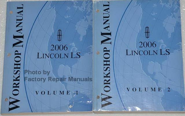 2006 lincoln ls factory service manual set original shop 2002 lincoln ls workshop manual 2000 lincoln ls workshop manual pdf