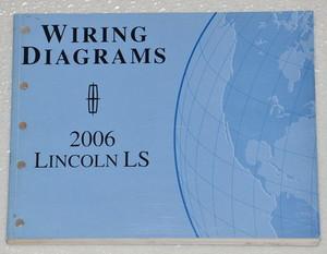 2006 lincoln ls electrical wiring diagrams original ford manual rh factoryrepairmanuals com