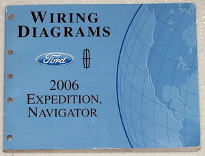 2006 expedition wiring diagram 2006 ford expedition and lincoln navigator electrical wiring diagrams manual - factory repair ... 97 ford expedition wiring diagram #5