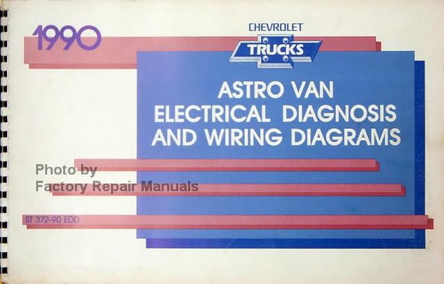 1990 Chevy Astro Van Factory Electrical Diagnosis  U0026 Wiring