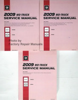 2009 MD-Truck Service Manual GMC Topkick Chevrolet Kodiak Volume 1, 2, 3