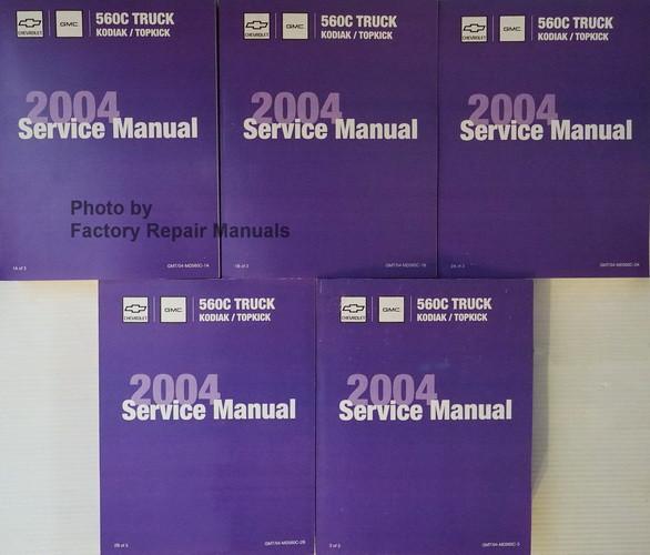 2004 chevrolet kodiak gmc topkick medium duty trucks factory shop rh factoryrepairmanuals com 2003 Chevy Trailblazer Owner's Manual 2008 Chevy Owner's Manual