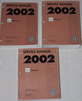 2002 Oldsmobile Aurora Service Manuals