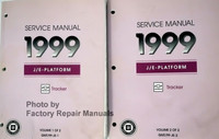 Service Manual 1999 Chevrolet Tracker Volume 1, 2