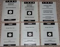 1999 Dodge Ram Van & Wagon Factory Service & Diagnostic Manuals