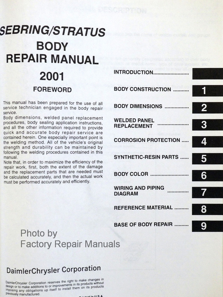 2001 chrysler sebring manual free owners manual u2022 rh wordworksbysea com 2001 chrysler sebring convertible repair manual 2001 chrysler sebring owners manual pdf