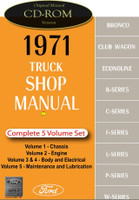 1971 Ford Truck Shop Manual