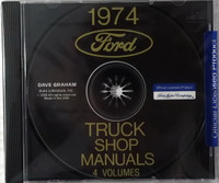 1974 Ford Truck Shop Manual 4 volumes