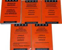 2000 Service Manual Cirrus/Stratus/Breeze
