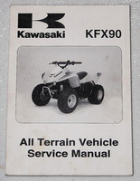 2007 Kawasaki KFX90 KFX 90 Youth Quad Service Manual KSF90-A7F OEM Shop Repair