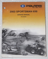 2003 POLARIS SPORTSMAN 500 6X6 ATV Factory Service Manual Dealer Shop Repair 03