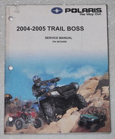 2004 2005 Polaris Trail Boss Service Manual