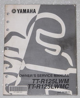 2000 Yamaha TT-R125L Motorcycle Owners Service Manual TTR125LWM OEM Shop Repair
