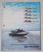 2004 POLARIS WaterCraft Freedom Virage Genesis MSX 140 Service Manual PWC Repair