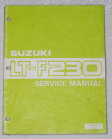 1986 SUZUKI Quad Runner 230 Service Manual LT-F230 LTF230G Factory Shop Repair
