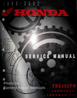 1995 2002 Honda Service Manual TRX400FW Forman 400