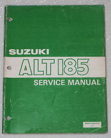 1984 1985 SUZUKI ALT 185 3 Wheeler ATV Factory Service Manual Original Shop Repair