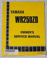 1992 YAMAHA WR250 WR250ZD Owners Service Manual WR 250 Motorcycle Original Shop
