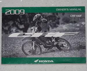 2009 honda crf100f owners manual crf100 crf 100 f motorcycle rh factoryrepairmanuals com honda crf 100 service manual free download honda crf 100 service manual pdf
