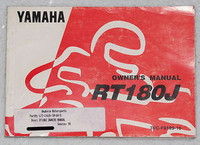 1997 YAMAHA RT180 Owners Manual RT180J RT 180 Motorcycle Original Factory Dealer