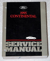 Ford 1995 Continental Service Manual