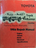Toyota Truck & 4Runner 1986 Repair Manual