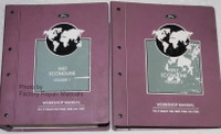 1997 Ford Econoline Workshop Manual Volume 1 and 2
