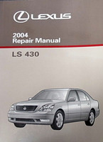 2004 Lexus LS430 Original Factory Shop Service Repair Manual 3 Volume Set LS 430