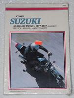 1977 1987 SUZUKI GS 400 425 450 Twins Clymer Repair Manual GS400 GS425 GS450 NEW